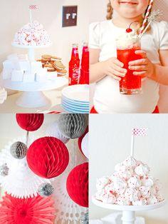 meringues-dessert table