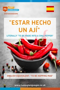 A lovely Spanish idiom to learn: how can we use it? Spanish Idioms, Spanish Humor, Idiomatic Expressions, Learn Spanish, Carrots, Stuffed Peppers, French, Vegetables, Learning