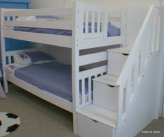 staircase bunk bed