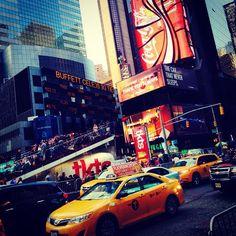 New York City = Sensory overload!