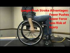 Great video to show SCI survivors. Propelling a WC properly is key to preserving upper limb function