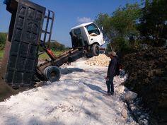 Dump truck fail moment