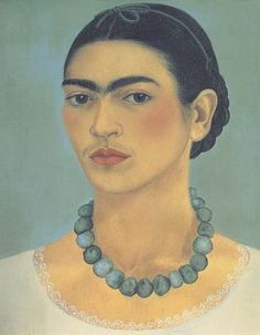 Frida Kahlo Self Portait With Necklacerobinson4-29-3