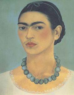 Frida Kahlo Self Portait With Necklacerobinson4-29-3