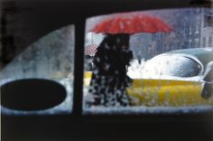 Red Umbrella, 1960 by Saul Leiter