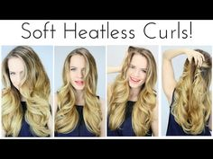 Heatless Halo Curls! | kayleymelissa