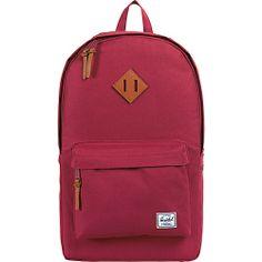 #Backpacks, #HerschelSupplyCo, #LaptopBackpacks - Herschel Supply Co. Heritage Burgundy - Herschel Supply Co. Laptop Backpacks
