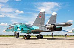A Russian Sukhoi  Su-34.