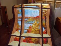 windowpane quilt