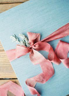 Pink & blue palette
