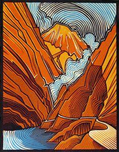 Contemporary Printmaking - Pass (Original Art from Joseph Vorgity)