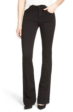 James Jeans High Rise Flare Jeans (Black Swan) available at #Nordstrom