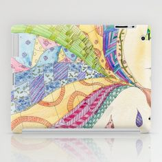The Painted Quilt iPad Case