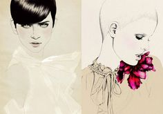 30 Fashion Illustrators You Cant Miss Part 2