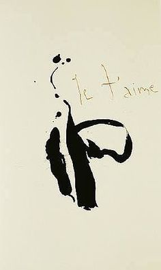 robert motherwell je t'aime - Google Search