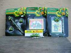 Very neat. Possibly gift? Teenage Mutant Ninja Turtles Party Favors. $12.00, via Etsy.