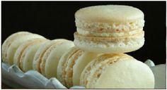 ΜΑΚΑΡΟΝ ΒΑΝΙΛΙΑΣ Macarons, Sweet Recipes, Food To Make, Cheese, Cookies, Ideas, Couscous, Crack Crackers, Biscuits