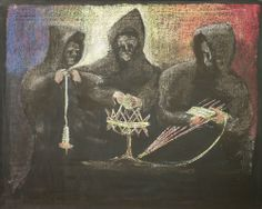 Urd, Skuld and Verdandi, 4th grade Norse Myths