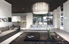 Steininger, Oberösterreich Showroom, Ceiling Lights, Living Room, Architecture, Interior, Gold, Black, Design, Home Decor