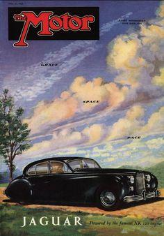 Motor Magazine Cover - Jaguar
