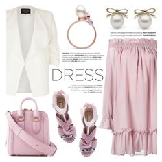 """""""Spring Trend: Off-Shoulder Dresses"""" by littlehjewelry ❤ liked on Polyvore featuring Alexander McQueen, River Island and N°21"""