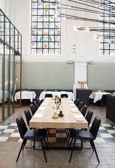 The Jane Antwerp: 'Fine Dining Meets Rock 'n Roll' -  Photo via Piet Boon Studio