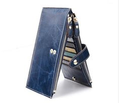 cowhide leather wallet/women wallet/ womens purse/ leather women walletiphone 5 wallet/wallet case/mens wallets