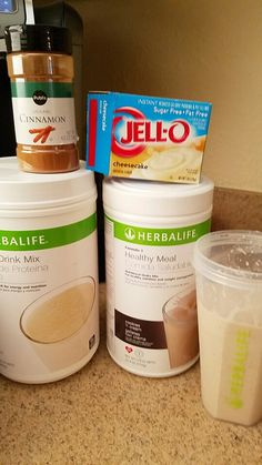 Snickerdoodle cheesecake shake..21 different vitamins and minerals, high protein, ONLY 160 CALORIES! LOSE WEIGHT AND FEEL GREAT...ASK ME ABOUT MY 3 DAY TRIAL! Snap Chat Healthcoachgina www.goherbalife.com/GinaT   1 scoop PDM 2 scoops Cookies n Cream Formula 1 3 tsp Sugar Free cheesecake pudding mix 1/4 tsp ground cinnamon  Blend with 8oz water and 6-8oz ice