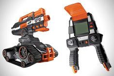 Because a Nerf gun that shoots at 68 miles per hour isn't terrifying enough for parents and older siblings, Nerf is now making a battle drone. The Nerf N-Strike Elite TerraScout RC Drone records. Arma Nerf, Bomba Nuclear, Nerf Accessories, Nerf Darts, Kids Toys For Boys, Nerf Toys, Rc Drone, Cool Inventions, Geek Gifts