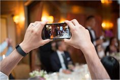 phones at weddings   Image by Nicola Milns Photography