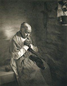 knitting and praying