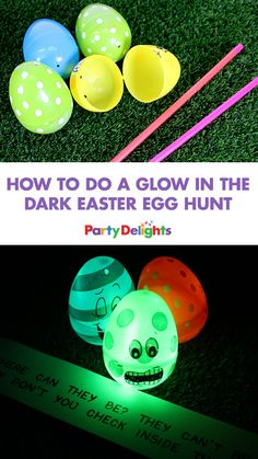 Free printables to make your own cute easter gift bags easter how to do a glow in the dark easter egg hunt negle Image collections