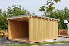 Design-Holzgarage