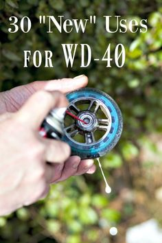 "Ways to Use - The Squeaky Wheel gets the grease? Think is ONLY for tight bolts and squeaky wheels? Think again! These 30 ""New"" Uses for will have you amazed that you didn't know them before! Cleaning Recipes, Cleaning Hacks, Wd 40 Uses, Workshop, Emergency Preparation, Helfer, New Uses, Disaster Preparedness, Frugal Tips"