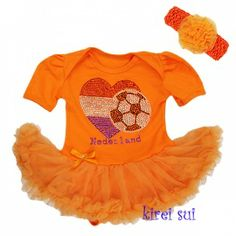 Baby Body Pettidress WK Nederland
