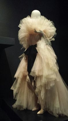 Gathered layers of tulle by Gaultier