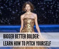 How to: Pitch yourself to a PR contact via email @Independent Fashion Bloggers