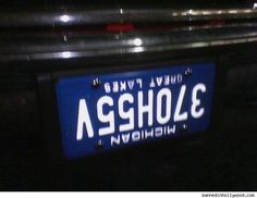 is listed (or ranked) 2 on the list 34 Hilarious Custom License Plates Funny License Plates, Vanity License Plates, Licence Plates, Funny Number Plates, Fender Bender, Car Tags, Personalized Plates, Vanity Plate, Car Humor