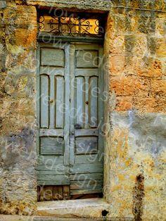 027. Digital old door digital old European door wooden door