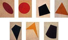 Ivan Kliun Iskaniia v tsvete (Studies in Color), 1917