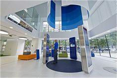 Madrid Bank touchscreen kiosks
