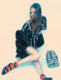 Tilda Lindstam for Elle France December 2014