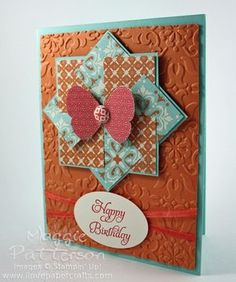 Quilted Birthday Card