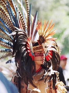 Image detail for -File:Aztec Headdress.jpg - Uncyclopedia, the content-free encyclopedia We Are The World, People Of The World, Native Indian, Native American Indians, Aztecas Art, Aztec Culture, Maya, Aztec Warrior, Mesoamerican