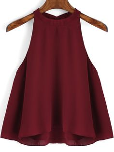 Burgundy Loose Cami Top — 0.00 € --------------------------------color: Burgundy size: one-size