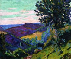 Crozant Landscape  Armand Guillaumin