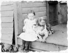 Beautiful Old Photos Of People With Their Dogs
