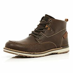 Brown worker boots $140.00