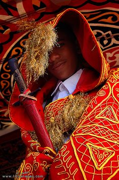 traditional dress of the groom, ghadames, libya | african culture