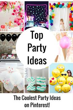 I love fun party ideas! Parties are so much fun and if you are like me, you have just as much fun planning them as you do attending them!  I am always blown away be the creativity of those who post their projects to Pinterest and the party decor ideas are one of my very …